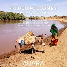 40.000 millones de horas al año, es el tiempo que dedican a recoger agua las mujeres y niñas de África subsahariana