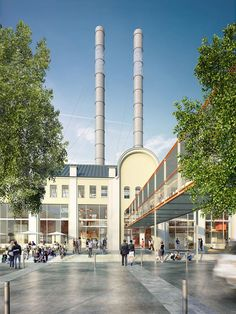 Renzo Piano will transform Moscow's GES2 power station into an exhibition space for the V-A-C Foundation, an organisation which promotes Russian art.