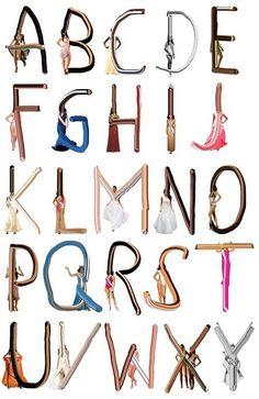 Miss Alphabet: by Sheriff via Design Milk