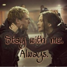"""51 Likes, 3 Comments - Chrissi Panem Fan (@tribute_joshpeeta_panem) on Instagram: """"Stay with me...ALWAYS ❤❤ by:@_hungergames.love_"""""""