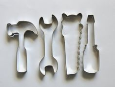 Tools Cookie Cutter Set