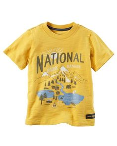 Toddler Boy National Park Ranger Graphic Tee from Carters.com. Shop clothing & accessories from a trusted name in kids, toddlers, and baby clothes.
