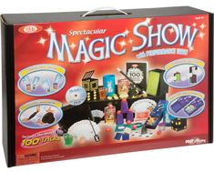 https://topmagicguide.com/best-magic-set/  Perfect review of the best magic sets for child and beginners. A great way to join the world of magic