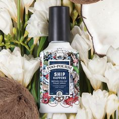 Make odor nothing more than a whale of a tale. With Poo~Pourri as your First Mate, you can drop anchor anywhere!