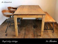 《SimpleTypeTable》120センチパイン無垢のダイニングテーブル