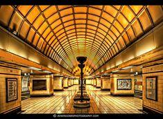 London Underground Art Deco by Edwinjones, via Flickr