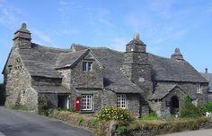 14th Century Tintagel Post Office Cornwall England