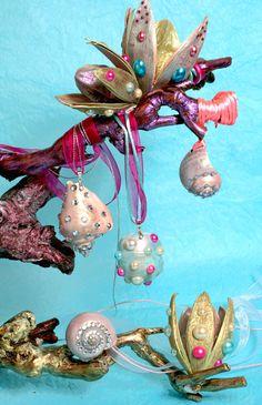 DIY snail jewellery