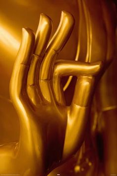 """The Golden Hand - """"Goddess guide my hands to acts of kindness, peace and love."""""""