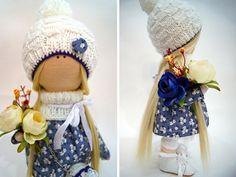 Interior doll Textile doll Cloth doll Nursery от AnnKirillartPlace