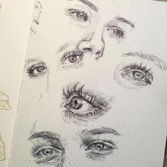 Sketchbook No.1 Character Design, Drawing, Illustration ...