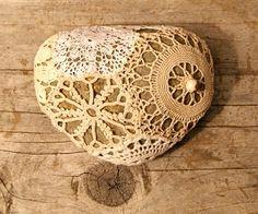 crochet love - stone cover
