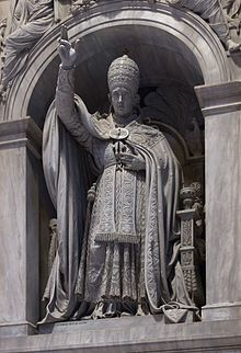 Pope Leo XII - Wikipedia, the free encyclopedia Pope Leo, Divinity School, Statue, Free, Sculptures, Sculpture