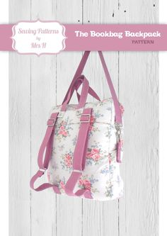 The Bookbag Backpack Bag PDF Advanced Sewing Pattern - Instant download 23879770508