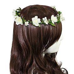 Hippies Flower Headband Garland Crown Festival Wedding Hair Wreath BOHO Floral Headband (White) Broadfashion http://www.amazon.co.uk/dp/B00NIK694A/ref=cm_sw_r_pi_dp_rPuRvb1F0BQ3J