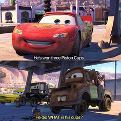 Legit still one of my favorite movies! Disney Day, Disney Love, Disney Magic, Radiator Springs, Disney Animated Movies, Disney Pixar Cars, Lightning Mcqueen, Disney Quotes, Disney Animation