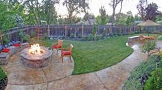 different angle. put hot tub where fire pit is.