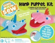 "Colorbok Learn To Sew Hand Puppet Kit-3.5""X7"" 2/Pkg; 3 Items/Order"