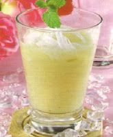 Ice Beras Kencur Young Coconut   Ethnic Recipes