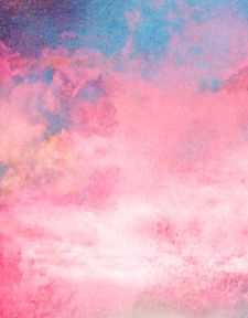 Pink Blue Together Clouds Pretty Pastel Everything Pale