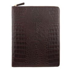 Zipped New Ipad Case, Brown Mara Collection $445.00