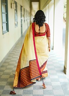 Interview : Charu Roopa on 'Colors & Mirrors' Salwar Pattern, Silk Cotton Sarees, Salwar Designs, Saree Look, Blouse Neck Designs, Ethical Clothing, Saree Styles, Ethnic Fashion, Comfortable Outfits