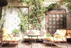 Riad, Patio, Night, Outdoor Decor, Travel, Home Decor, Marrakech, Nice Asses, Viajes