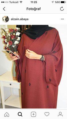 Islamic Fashion, Muslim Fashion, Hijab Dress, Hijab Outfit, Abaya Fashion, Fashion Outfits, Modern Abaya, Abaya Designs, Ethnic Outfits
