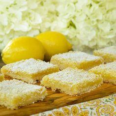 Lemon Bars Recipe | Magnolia Days