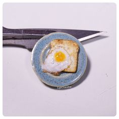"""2,268 Likes, 24 Comments - Tanja - Miniatures (@sugarcharmshop) on Instagram: """"A quickie eggy  wanted to make a dish with a fried egg, but seeing as I have to cook dinner I…"""" #miniaturefood"""