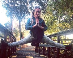 Yoga expert Kathryn Budig says her practice gives her way more benefits than a sculpted body.