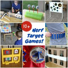 10+ of the BEST Nerf Games to Make