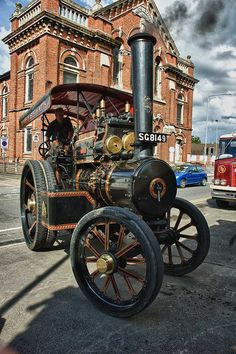 """Fowler Engine 'Shifty' by gainsheritage """"Commenting when I Can"""", via Flickr"""