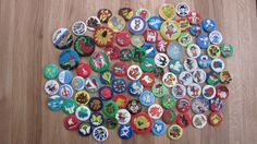 Set of 90 retro animal brooches/ badges/ button / by RETROisIN