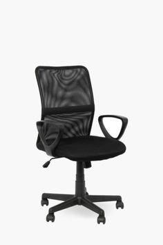 Mid Back Mesh Chair - Shop Office - Furniture - Shop Office Chairs For Sale, Home Office Chairs, Office Furniture, Home Furniture, Home Online Shopping, Home Decor Online, Mr Price Home, Mesh Chair, New Homes