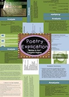 essay poems analysis