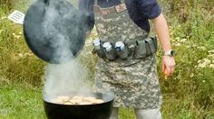 Tactical Grilling Apron - Bahahahaha what a perfect manly apron!