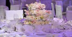 Sweet White Low Centerpiece