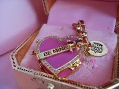 Valentines juicy couture charm