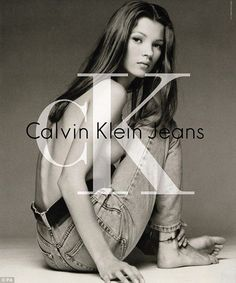 Kate Moss CK Jeans