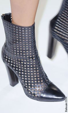 Paris Fashion Week SS14 Runway Shoes