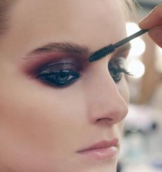 love smokey chanel eye.