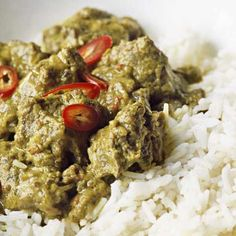 Try our easy beef rendang recipe. This coconut curry originated in Indonesia and is popular in Malaysia. Slow-cooked beef shin works well in this rendang curry Healthy Curry Recipe, Curry Recipes, Asian Recipes, Easy Recipes, Beef Rendang Recipe, John Torode, Slow Cooked Beef, Curry Dishes, Tasty
