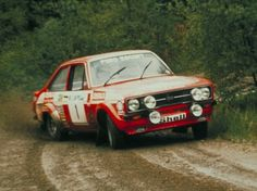 ra Ford Escort RS1800-Rally Wales 2 1975