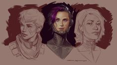 ArtStation - Faces, John Grello