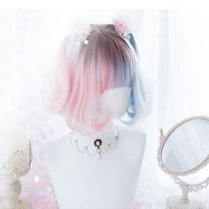 Pelo Lolita, Lolita Hair, Anime Wigs, Anime Hair, Cosplay Hair, Cosplay Wigs, Frontal Hairstyles, Wig Hairstyles, Hairstyles 2018
