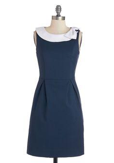 Extraordinary Executive Dress | Mod Retro Vintage Dresses | ModCloth.com