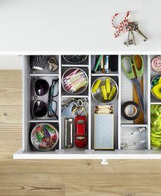 IKEA Saklama Çözümleri: Evinizin düzenini IKEA sağlıyor.