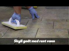 Gamle flislagte gulv kan bli som nye. Det finnes en rekke gode rengjørings- og vedlikeholdsmidler du kan bruke. Vi viser deg hvordan.