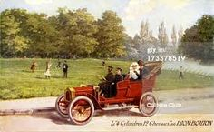 French advertisement for de Dion-Bouton car, ca. 1904